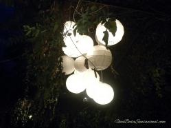 Iluminando exteriores