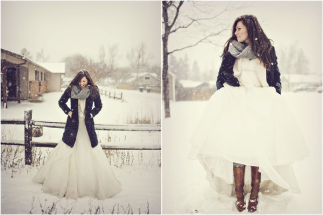 winter-wedding-fashion-winter-bride-winter-wedding-winter-coat-scarf-and-boots-over-wedding-dress